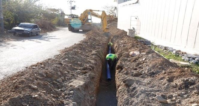 MESKİ, Anamur'da içme suyu şebeke çalışmalarına devam ediyor