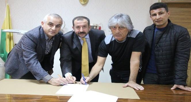 Şanlıurfaspor'da Kemal Kılıç dönemi başladı