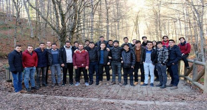 Akademik Lise öğrencilerine doğa gezisi düzenlendi