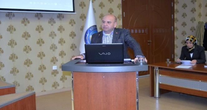 Başkan Mehmed Ali Saraoğlu, Kütahya Tabiat Turizmi Çalıştayı'nda ilçeyi tanıttı