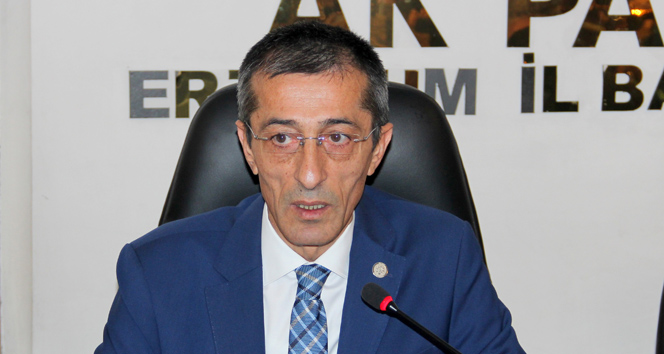 AK Parti Erzurum İl Başkanı istifa etti
