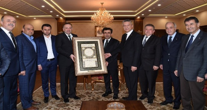 KOTO yönetiminden Vali Güzeloğlu'na ziyaret
