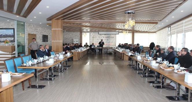 Muş'ta 'Ekonomi ve Kalkınma Platformu' toplantısı