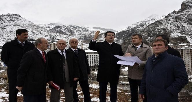 Gümüşhane'ye 100 milyon TL'lik kamu yatırımı gün sayıyor