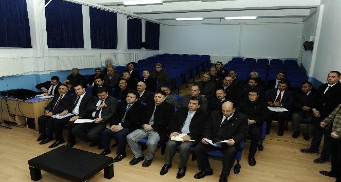 Vali Çelik, İnönü İlçe Muhtarları Toplantısı'na Katıldı