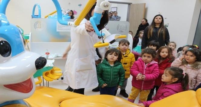 BEÜ'nün minik öğrencilerine ağız ve diş sağlığı eğitimi verildi