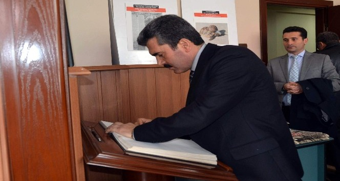 Başsavcı Arslan'dan AGC'ye ziyaret