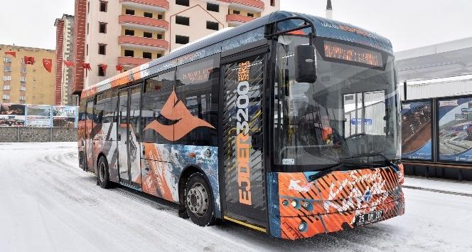 Büyükşehir'den Kayak Merkezlerine özel ulaşım hattı