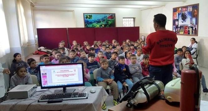 Öğrenciler Edremit'in gerçek kahramanlarıyla tanıştılar