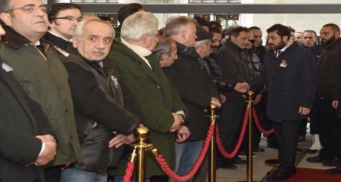Başkan Hazinedar, Erdal Tosun'un cenaze törenine katıldı