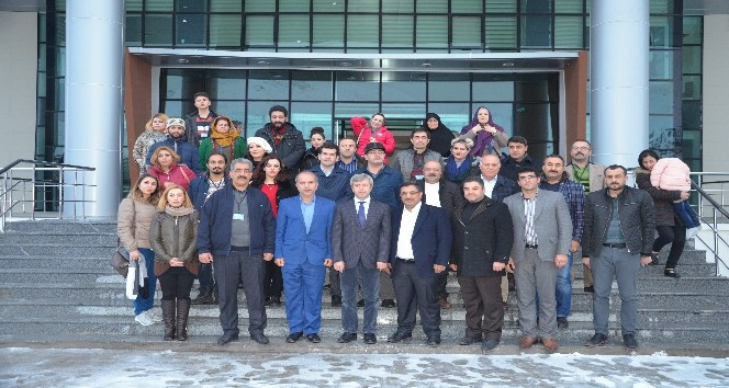 İran heyetinden Vali Çınar'a ziyaret