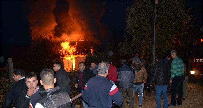 Facianın yaşandığı yurdun yakınındaki binada yangın