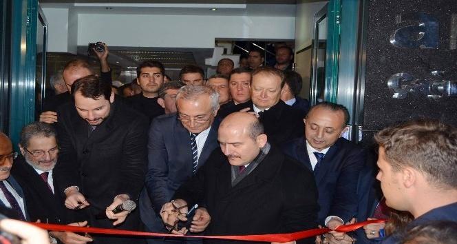 Bakanlar Soylu ve Albayrak Trabzon'da çağrı merkezi açılışını yaptı