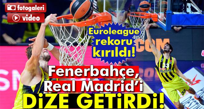 Euroleaguede müthiş maçın kazananı Fenerbahçe! (Fenerbahçe 78-77 Real Madrid )