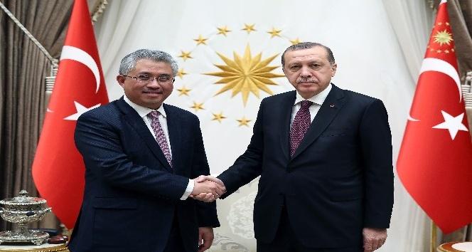 Cumhurbaşkanı Erdoğan, Khazanah Direktörünü kabul etti