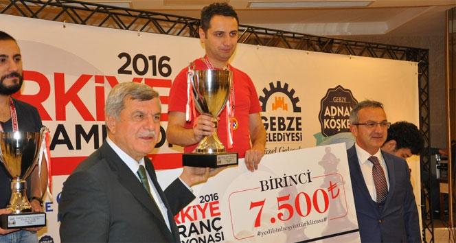 Türkiye Satranç Şampiyonasında 1. belli oldu