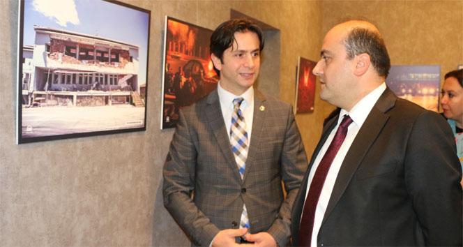 Fatih Metin, Budapeştede 15 Temmuz Fotoğraf Sergisini açtı