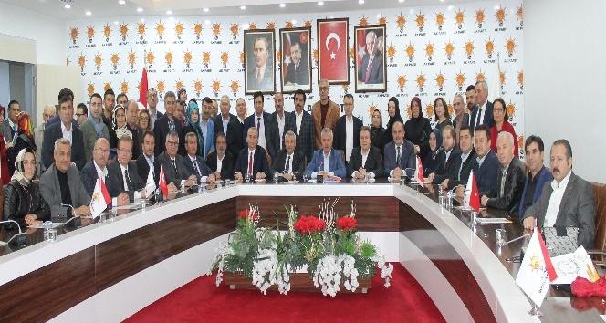 AK Parti Genel Başkan Yardımcısı Mustafa Ataş Denizli'de partililerle buluştu