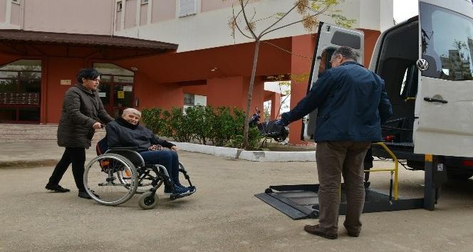 Konyaaltı Belediyesi'nden engellilere hizmet