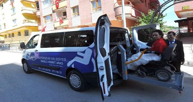 Ankara Büyükşehir engellilere hizmet ve projeleri ile örnek oluyor