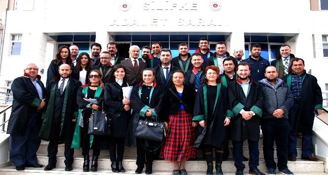 Avukatlar Mersin Barosu'nun kuruluşunu kutladı