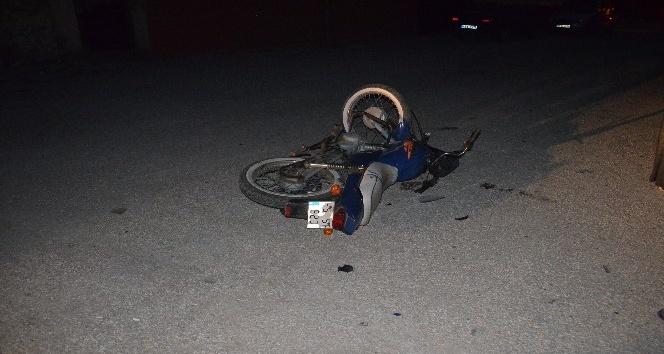 Kua'da motosiklet ile otomobil çarpıştı: 1 yaralı