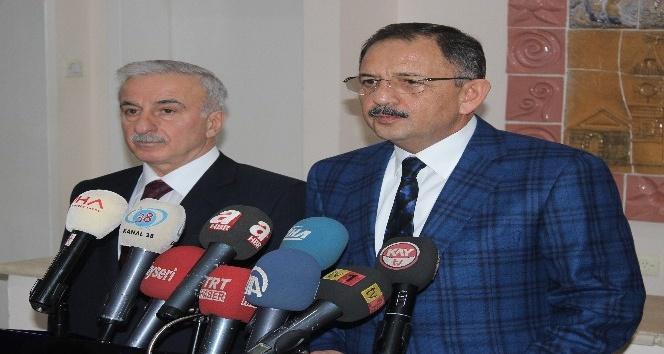 """Bakan Özhaseki: """"Adı Cumhurbaşkanlığı da olsa Başkanlık da olsa sistemi değiştireceğiz"""""""