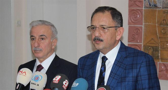"""Bakan Özhaseki: """"Adı Cumhurbaşkanlığı da olsa Başkanlık da olsa..."""""""