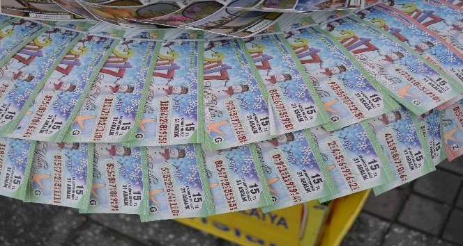 2017 Milli Piyango yılbaşı biletleri satışta