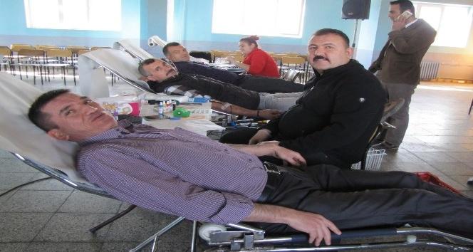 Hisarcık Kızılay Şubesi'nden kan bağışına destek
