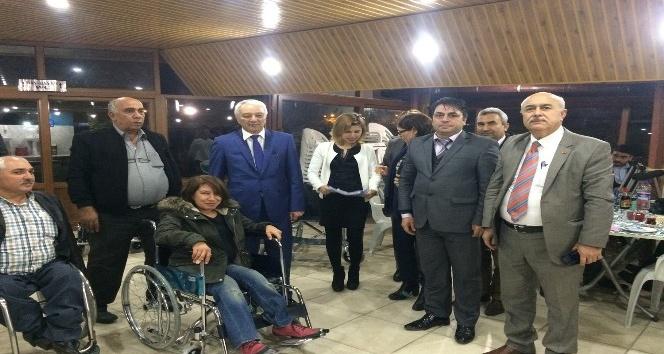 Büyükşehir'den engellilere sandalye