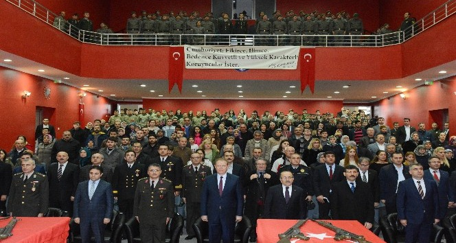 Trabzon'da 83 kısa dönem er için yemin töreni düzenlendi