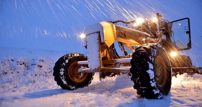 Ağrı'da 190 köy yolu ulaşıma açıldı