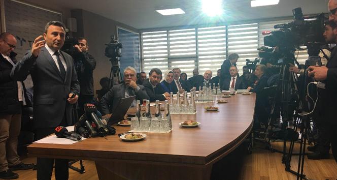 TÜRKSAT ziyaretine CHPli üyeler katılmadı