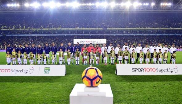 Fenerbahçe Beşiktaş maçı özel kareler
