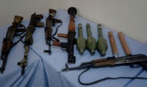 Hakkaride PKKya ait çok sayıda silah ve mühimmat ele geçirildi
