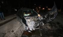 Konyada iki otomobil çarpıştı: 8 yaralı