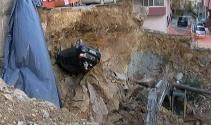 Maltepede göçük, 7 katlı bina boşaltıldı