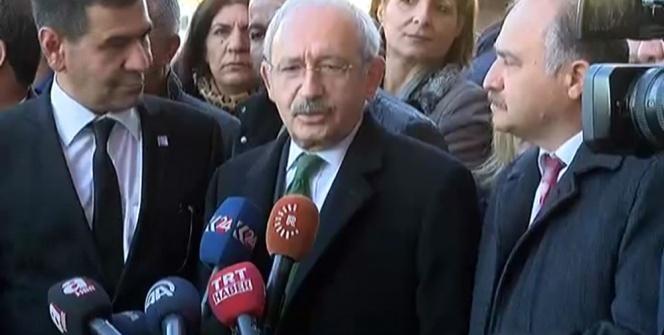 Kılıçdaroğlu Diyarbakır'da taziye törenine katıldı