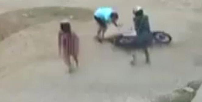 Silahlı gaspçılar adamı böyle vurdu