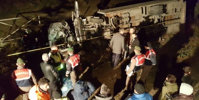 Bursa'da korkunç kaza: 4 ölü, 1 yaralı