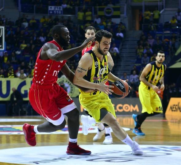 Fenerbahçe, Kızılyıldız'ı farklı devirdi...