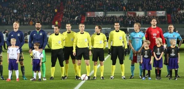 Fenerbahçe Feyenoord maçı özel kareler...
