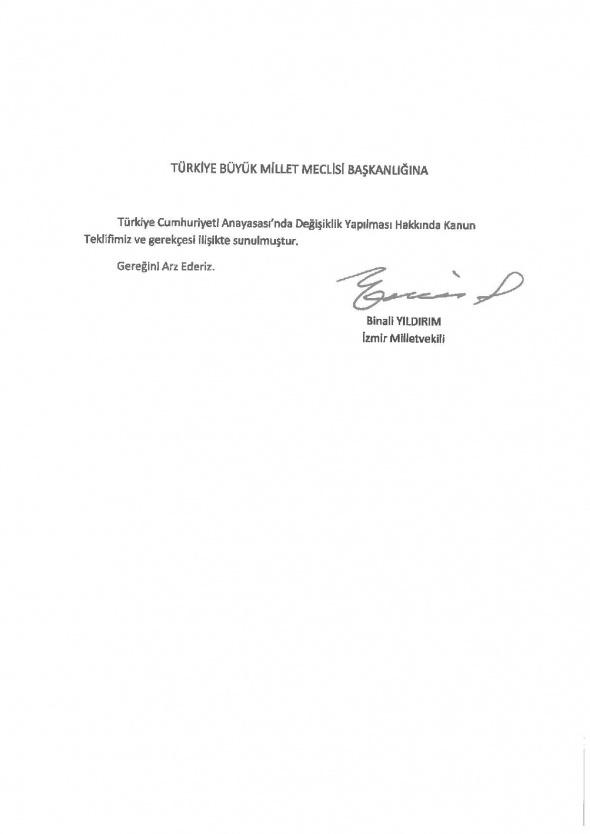 Anayasa teklifi Meclis'te... AK Parti'nin anayasa teklifi içeriğinde neler var?