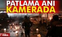 Beşiktaştaki Patlama Anı Kamerada