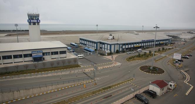Trabzon Havalimanı pistinin 3 bin metreye çıkarılması