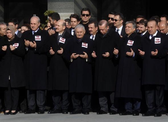 Şehitlerimiz için İstanbul Emniyet Müdürlüğünde tören düzenlendi