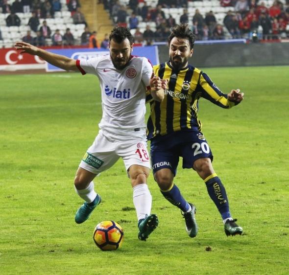 Antalyaspor Fenerbahçe maçından özel kareler