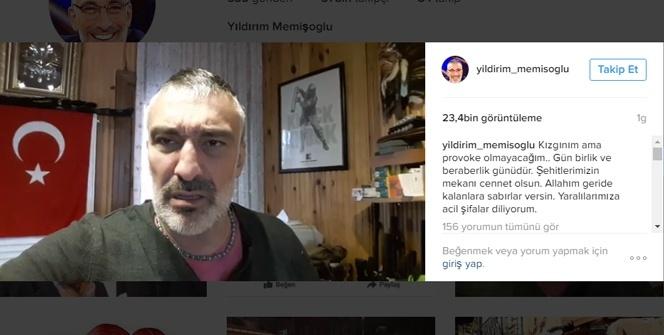 Teröre karşı yayınladığı 40 saniyelik videosu olay oldu!