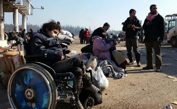 Suriye'deki dramın fotoğrafları